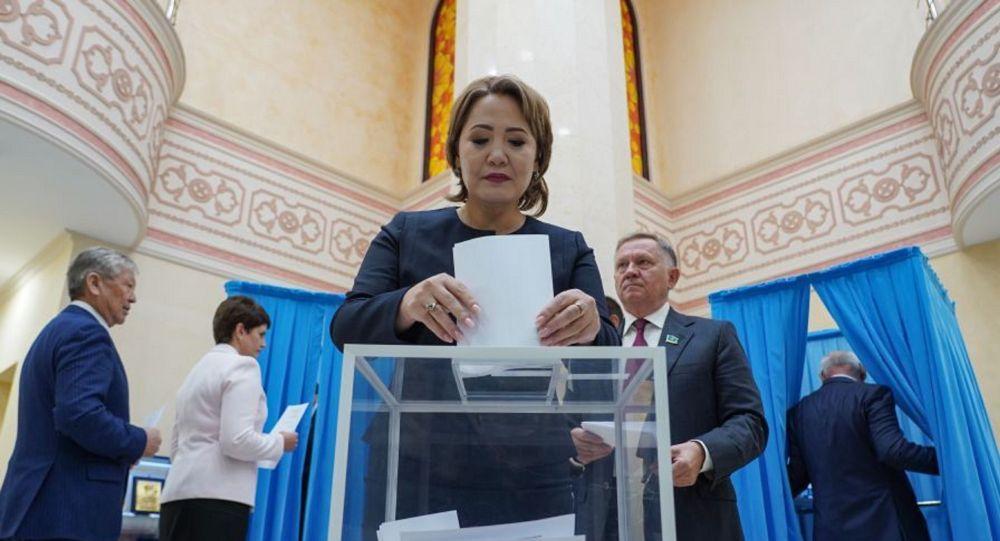 Голосование за кандидатуру нового спикера Сената