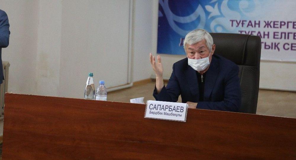 Аким Жамбылской области Бердибек Сапарбаев встретился с жителями села Каскабулак