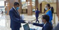 Сенат депутатына кандидат Ақылбек Күрішбаев