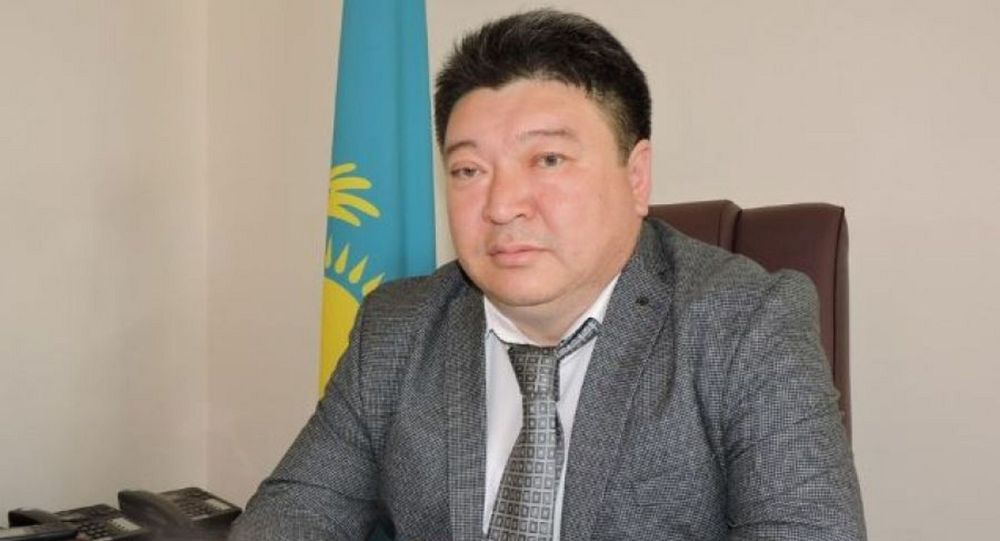 Главный санврач Алматинской области Ергали Сыдыманов