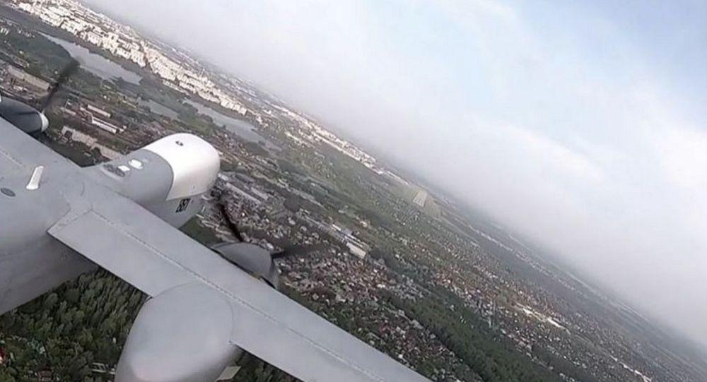 Первый полет беспилотника Альтиус-У