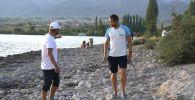 Иссык-Куль вместо Олимпиады: как Виталий Худяков готовился переплыть озеро