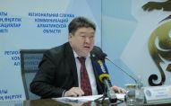 Алматы облысының бас дәрігері Ерғали Сыдыманов