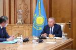 Нурсултан Назарбаев провел встречу с Асетом Исекешевым