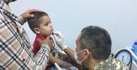 Казахстанские военные врачи в Бейруте