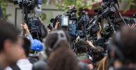 Журналисты, операторы, пресса, СМИ. Иллюстративное фото