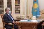 Қазақстан президенті Қасым-Жомарт Тоқаев премьер-министр Асқар Маминнің есебін тыңдады