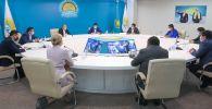 Бауыржан Байбек встретился с Лигой сторонников Nur Otan