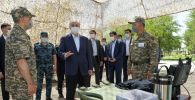 Касым-Жомарт Токаев посетил воинскую часть в Арыси