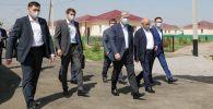 Касым-Жомарт Токаев осмотрел новый микрорайон в поселке Мырзакент