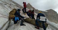 Спасательная операция в горах Туркестанской области