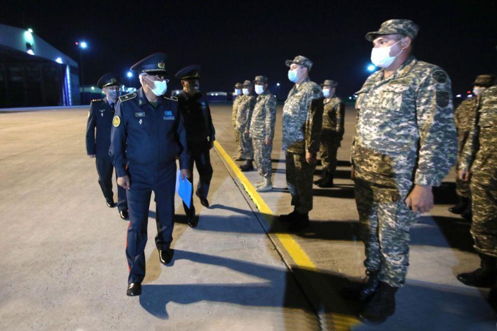 Казахстанские военные медики вернулись из Ливана
