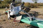 Близ Уральска разбился самодельный самолет