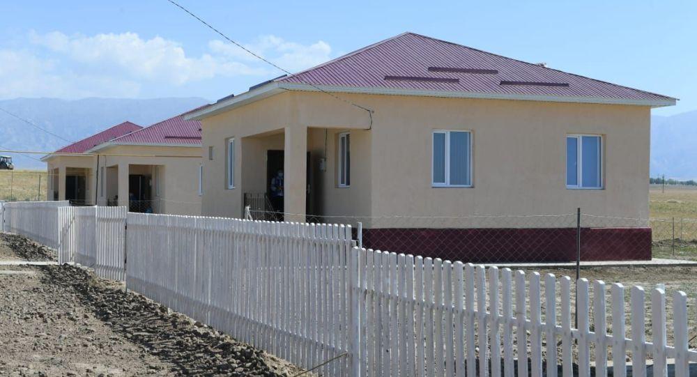 Новые дома в Туркестанской области для пострадавших от наводнения