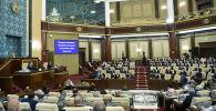 Президент Токаев выступает с ежегодным посланием народу Казахстана в парламенте