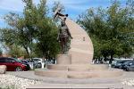 Памятник Хиуаз Доспановой