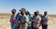 В Кызылординской области состоялась церемония перезахоронения останков участника Великой Отечественной войны