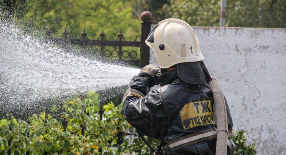 Казахстанский пожарный
