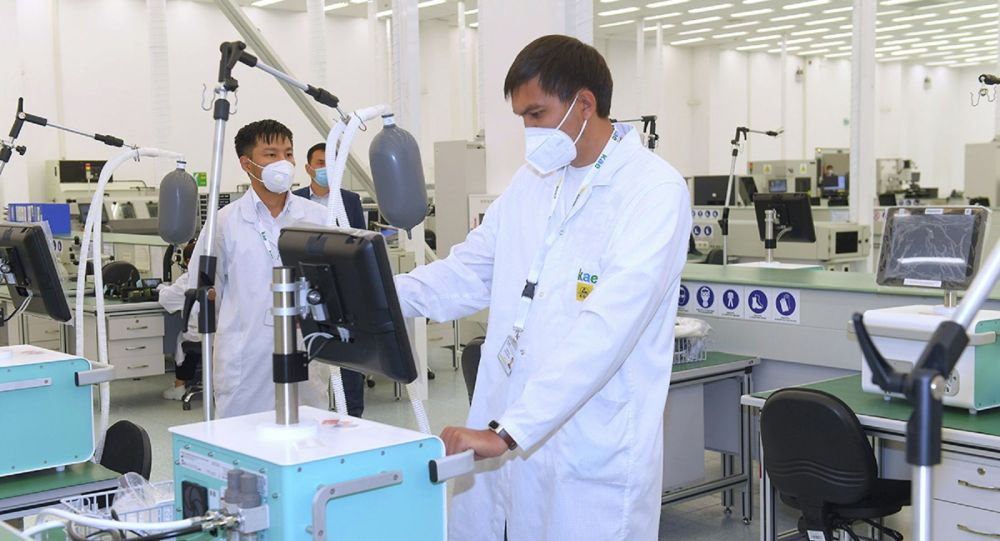 В Казахстане открыто производство стационарных аппаратов ИВЛ
