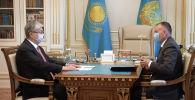 Касым-Жомарт Токаев принял председателя Центральной избирательной комиссии Берика Имашева
