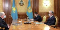 Президент Касым-Жомарт Токаев принял посла Российской Федерации в Казахстане Алексея Бородавкина