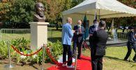 Открытие бюста Абая в Бухаресте