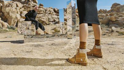 Timberland выпустил новую версию своих классических ботинок вместе с Jimmy Choo