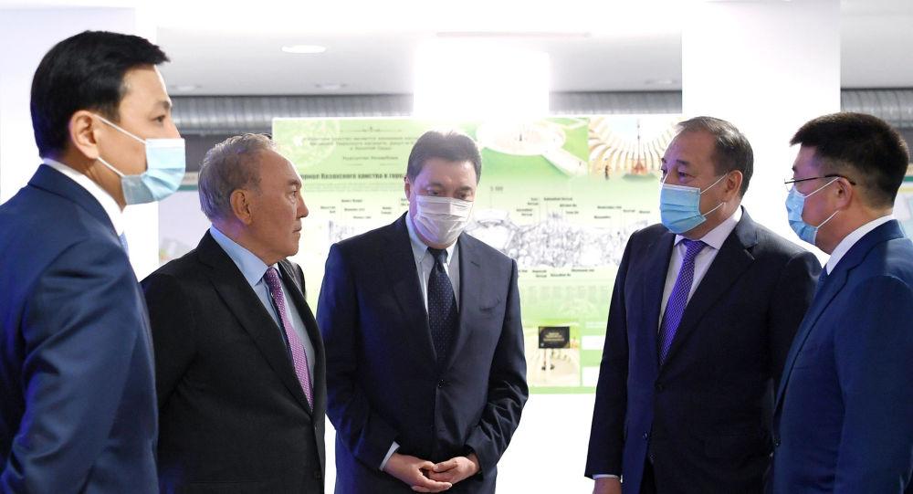 Назарбаев посетил Астанагенплан