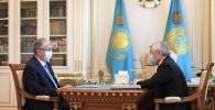 Сапарбаев президентке Қордайдағы жағдайды баяндап берді