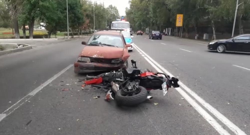 ДТП со смертельным исходом по проспекту Достык-Тайманова