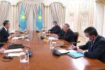 Елбасы встретился с главой МИД Китая Ваном И