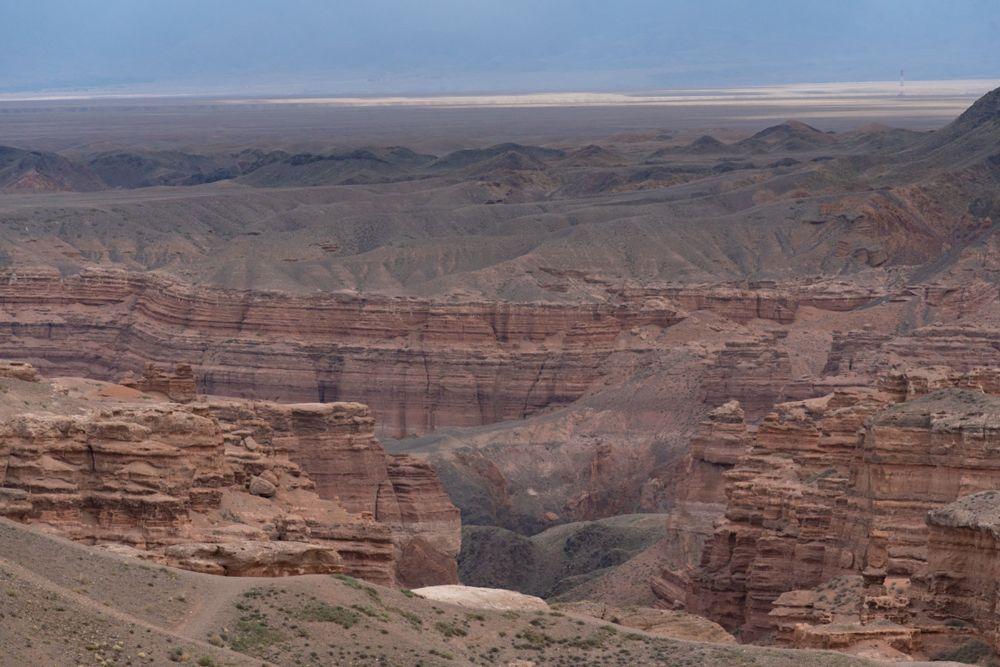 Шарын шатқалы Алматыдан 195 шақырым шығысқа қарай, Қытаймен шекарадан алыс емес жерде орналасқан