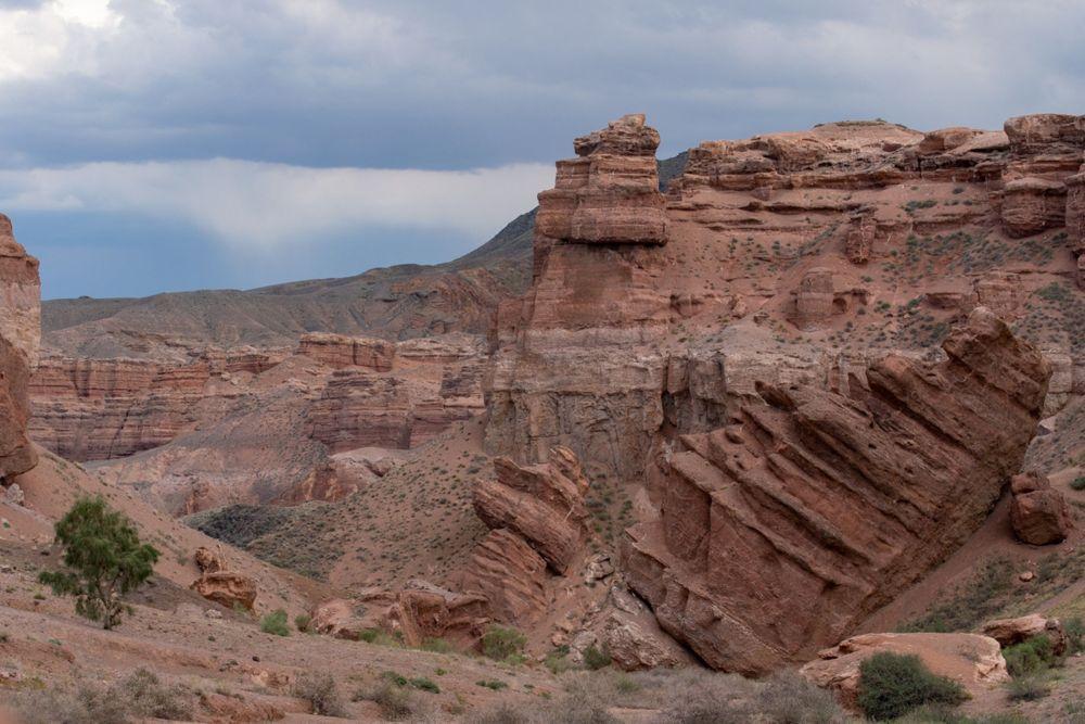 Шарын шатқалындағы тау жыныстары ежелде қалыптасқан