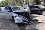 Тройная авария с участием мусоровоза на ул. Аруана