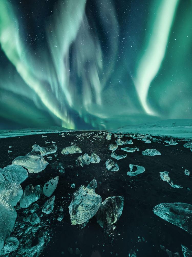 AURORAE санатында жоғары бағаланған ресейлік фотограф Кристина Макееваның Исландия фотосы