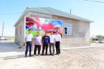 Дом, построенный волонтерами для многодетной семьи