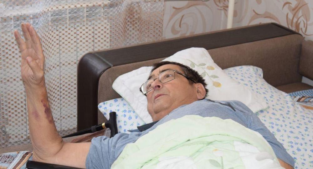 Житель Кокшетау Николай Панюшкин спас жизнь пятилетней девочке, выпавшей из окна пятого этажа