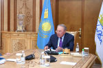 Назарбаев Шпекбаевты қабылдады