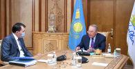 Назарбаев принял Шпекбаева