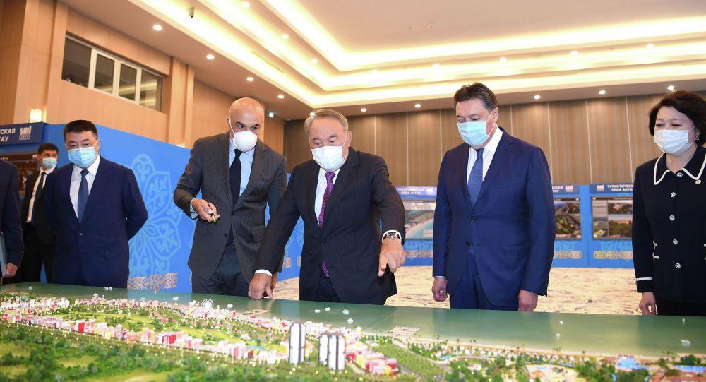 Нұрсұлтан Назарбаев Ақтауға барды