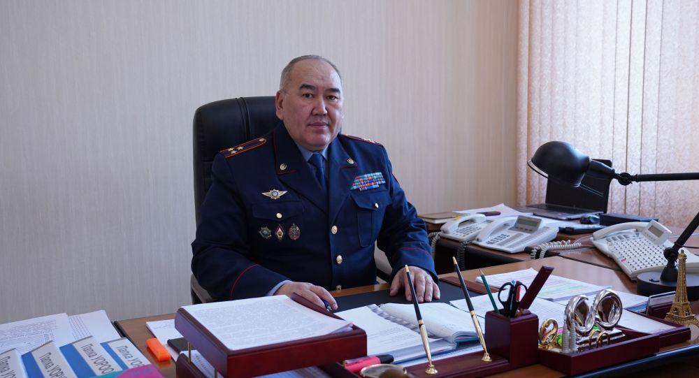 Начальник департамента криминальной полиции МВД Республики Казахстан Думан Таев