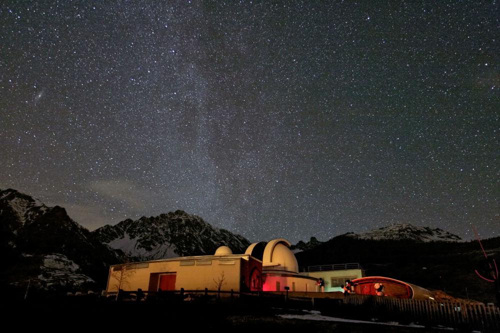 Валле-д'Аостадағы обсерватория, Италия.