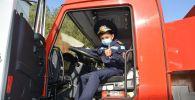 Еще один кадетский класс юных спасателей открыли в Алматинской области