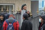 Студенттер әскери жиын пунктіне лап берді – видео