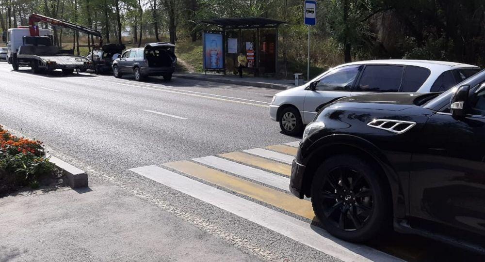 Наезд на пешехода по улице Бухтарминской