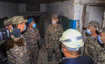 Қорғаныс министрі Нұрлан Ермекбаев Сарыөзек гарнизонын тексерді