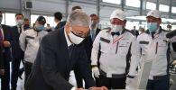 Қасым-Жомарт Тоқаев Hyundai Trans Kazakhstan зауытына барды