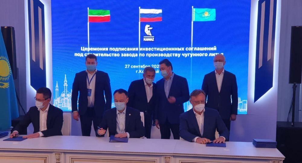 Қазақстан премьері мен Татарстан басшысы Қостанайда кездесті