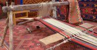 Вековые ковры и древний ткацкий станок показали на выставке в Петропавловске