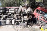 Массовое столкновение автомобилей в Алматинской области